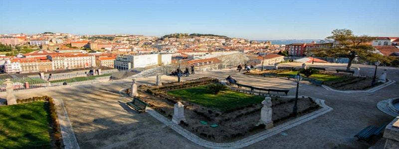 Mirador de San Pedro de Alcántara de Lisboa