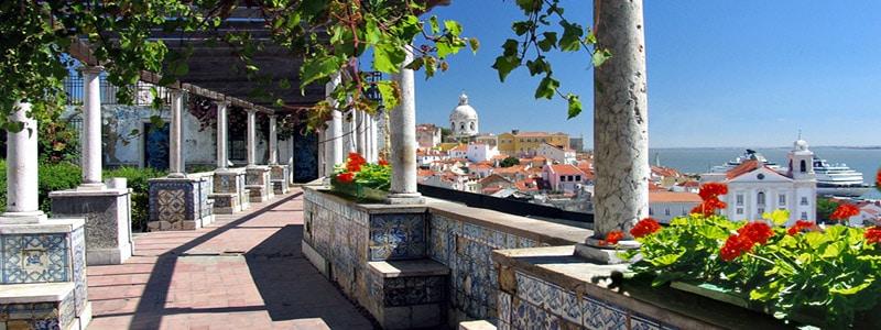 Mirador de Santa Lucía de Lisboa