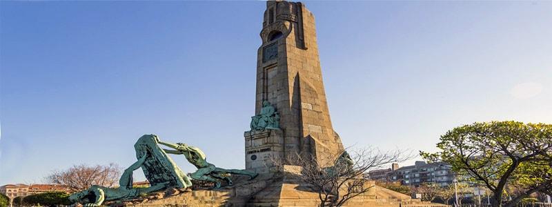 Monumento a Evaristo Churruca de Getxo