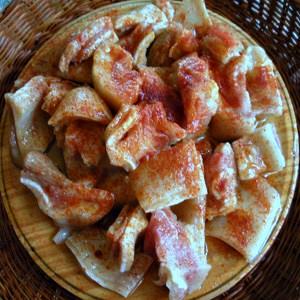 Oreja de Cerdo con Pimentón y Aceite