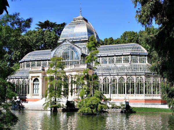 Palacio de Cristal del Retiro de Madrid - Viajar a madrid sitios para ver - Ilutravel.com