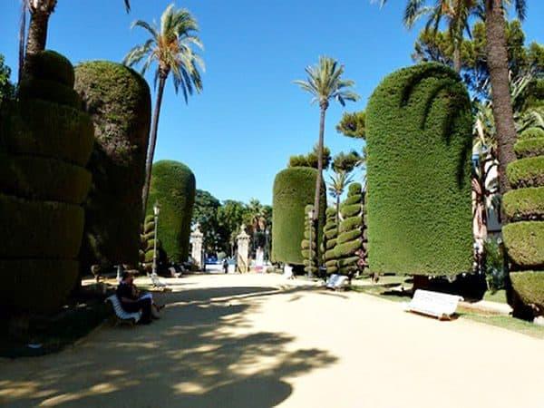 Parque Genovés de Cádiz - Cádiz de turismo - Ilutravel.com