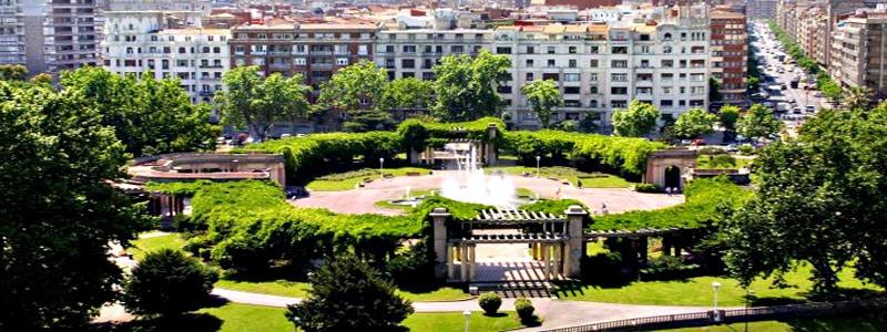 Parque de Casilda de Iturrizar de Bilbao
