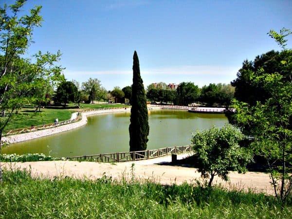 """Parque de la Alhóndiga """"Los Lagos"""" de Getafe"""