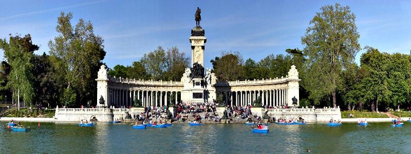 Parque del Retiro de Madrid de Madrid