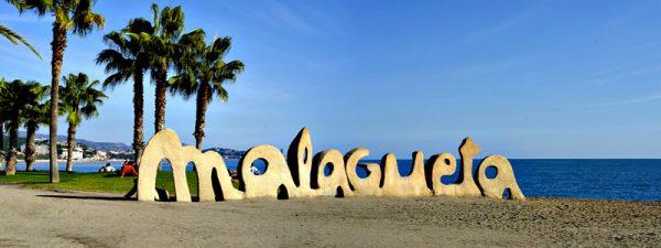 Playa La Malagueta de Málaga
