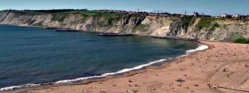 Playa de Arrigunaga de Getxo