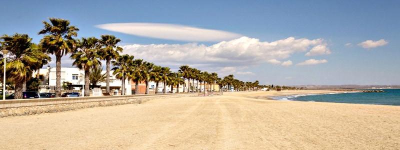 Playa de Costacabana de Almería