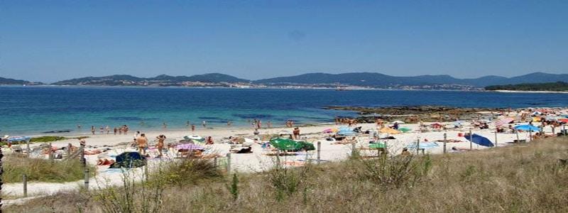 Playa de Fontaiña de Vigo