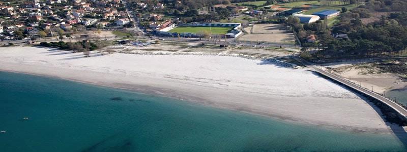 Playa O Baluarte de Vigo