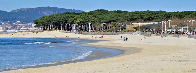 Playa de Samil de Vigo