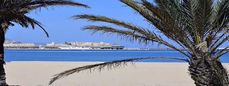 Playa de la Hípica de Melilla