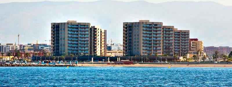 Playa de la Térmica de Almería