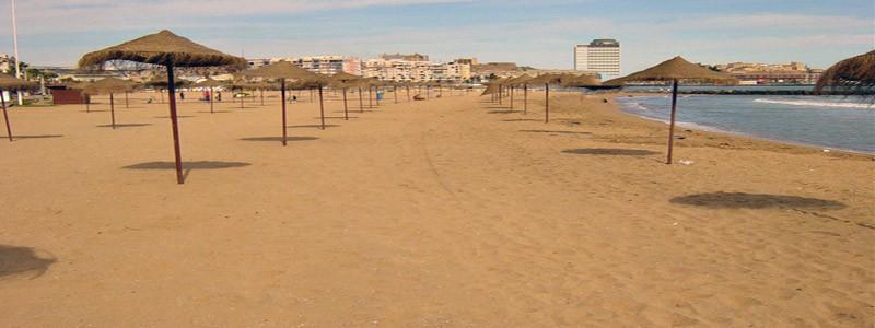 Playa de los Cárabos de Melilla