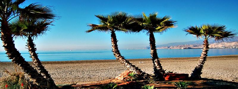 Playa del Palmeral de Almería