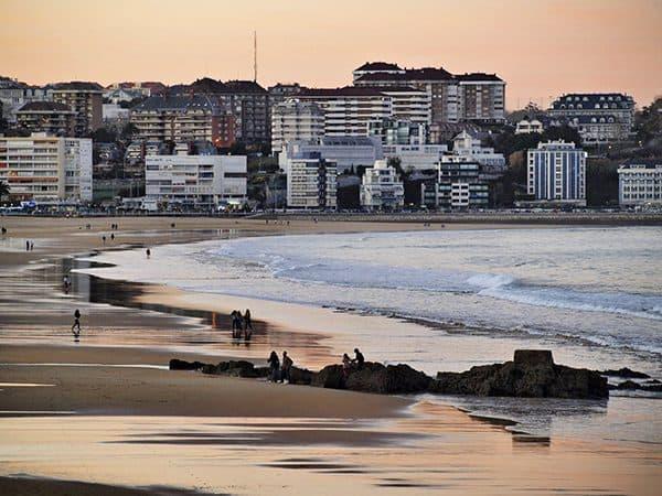 Playa del Sardinero de Santander - Que visitar un día o dos - Ilutravel.com