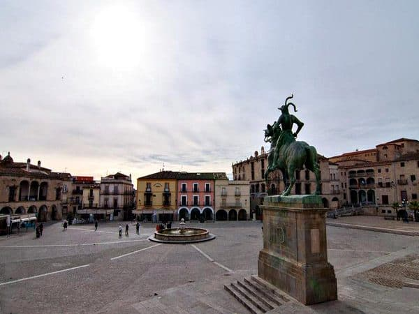 Plaza Mayor de Trujillo de Trujillo
