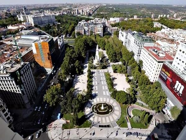 Plaza de España de Madrid - Ilutravel.com