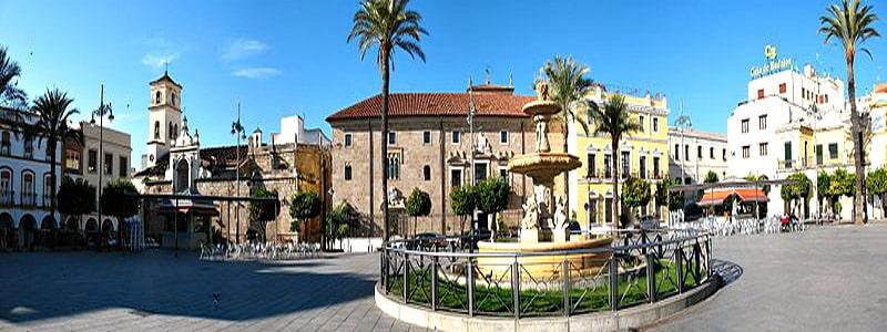 Plaza de España de Mérida