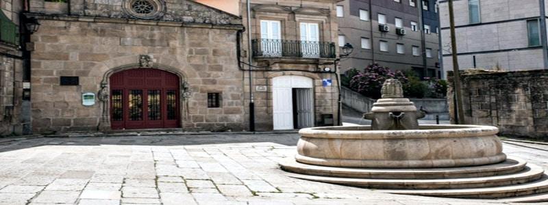 Plaza de San Cosme y San Damián de Orense