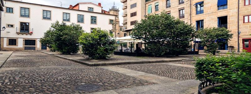 Plaza de la Magdalena de Orense