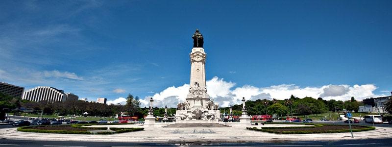 Plaza del Marqués de Pombal de Lisboa