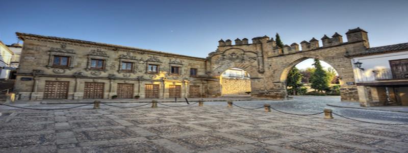 Plaza del Pópulo de Baeza