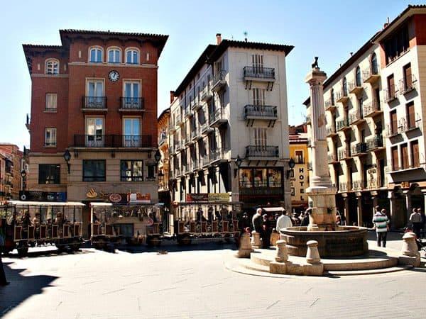 Plaza del Torico de Teruel miniatura