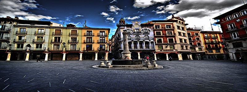 Plaza del Torico de Teruel superior