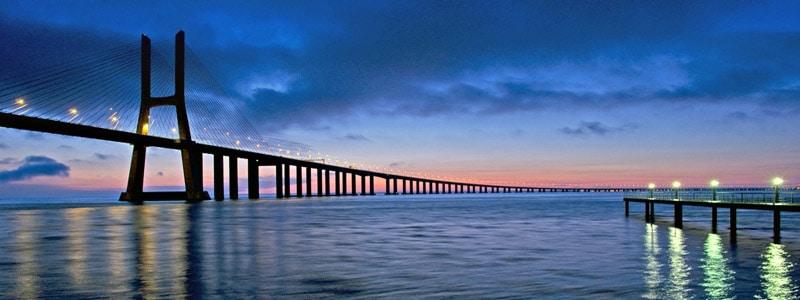 Puente Vasco de Gama de Lisboa