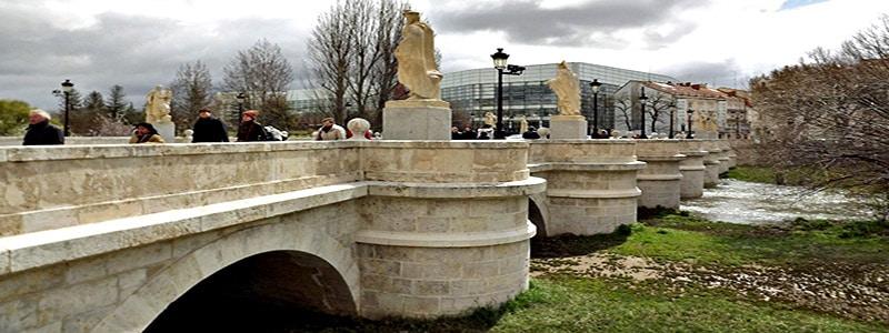 Puente de San Pablo de Burgos
