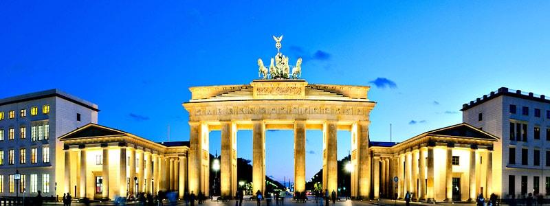 Puerta de Brandemburgo de Berlin