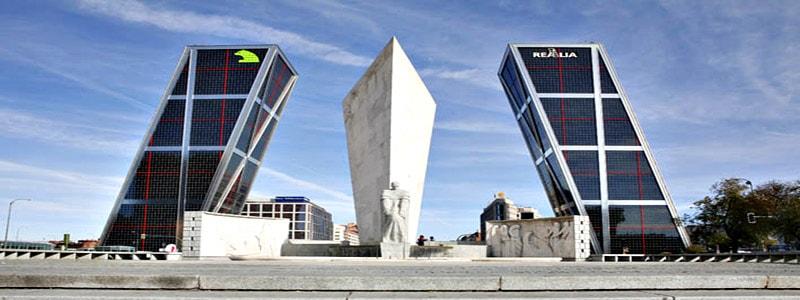 Puerta de Europa de Madrid