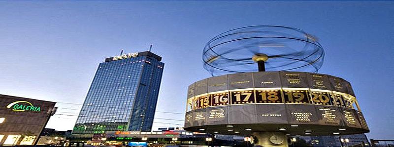 Reloj Mundial Reloj de Berlin