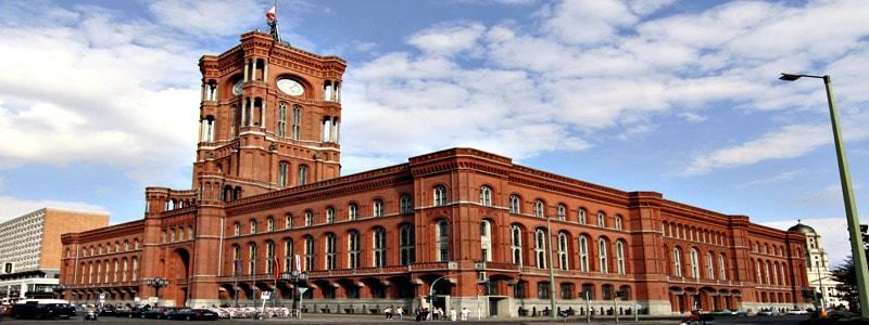 Rotes Rathaus (Ayuntamiento Rojo) de Berlin