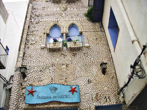 Casa de las Conchas de Peñíscola - Sitios para visitar en Peñíscola de turismo - Ilutravel.com