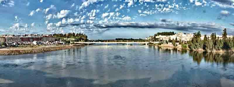 Foto superior de Badajoz