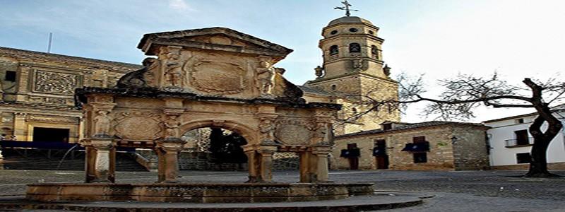 Fuente de Santa María de Baeza