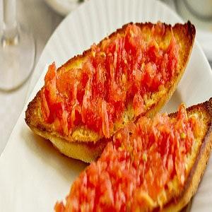 Tostada de Aceite y Tomate