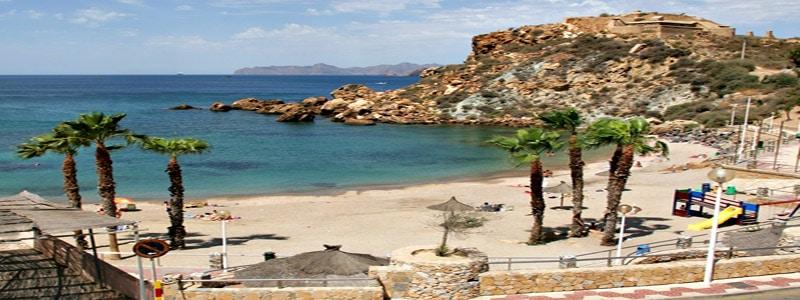 Cala Cortina de Cartagena lugar que visitar