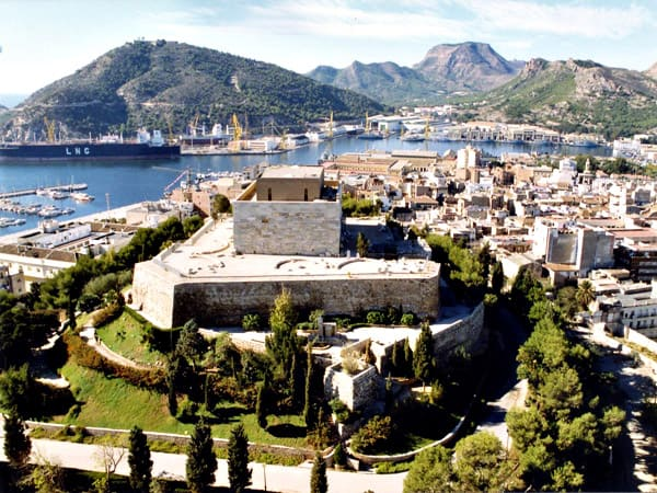 Castillo de la Concepción de Cartagena, lugar que ver en la ciudad