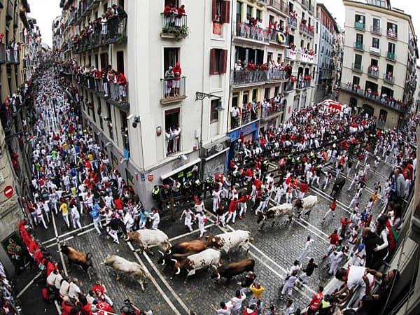 Curva de Estafeta de Pamplona - Lugares que conocer en Pamplona - Ilutravel.com