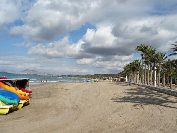 Cartagena lugar que ver Playa La Azohía (San Ginés)