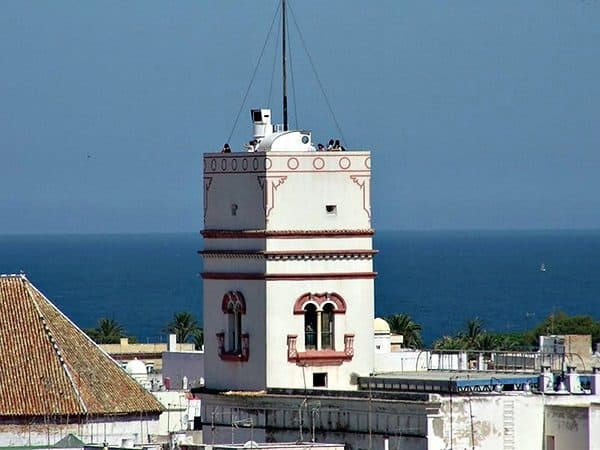 Torre Tavira de Cádiz - Lugares de interés de Cádiz - Ilutravel.com