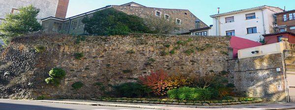 Antigua muralla de Oviedo