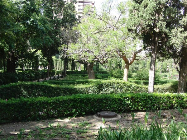 Jardines de Monforte de Valencia - Visitar Valencia - Ilutravel.com