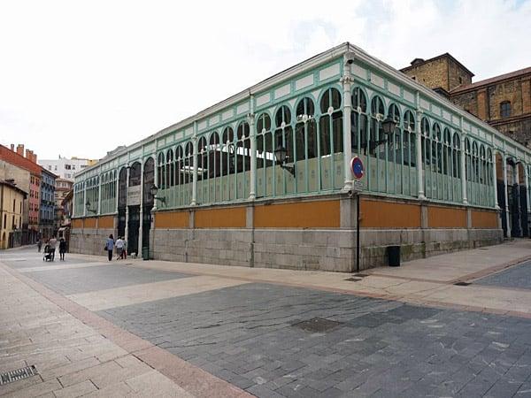 Mercado El Fontán de Oviedo - Ver Oviedo de turismo en un día - Ilutravel.com
