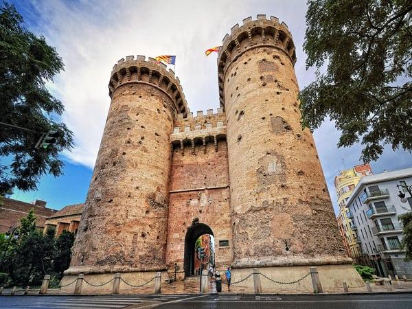 Torres de Quart de Valencia - Que ver en Valencia 3 días - Ilutravel.com