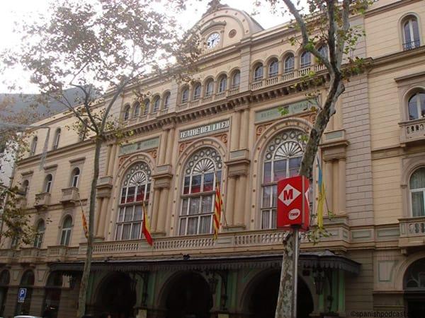 Gran Teatro del Liceo de Barcelona - Ver la ciudad Condal en 3 días - Ilutravel.com