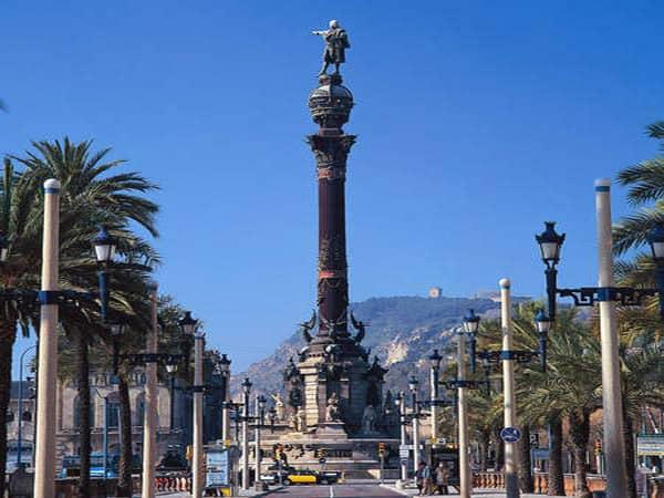Monumento de Colón de Barcelona - Mirador que ver en Barcelona - Ilutravel.com